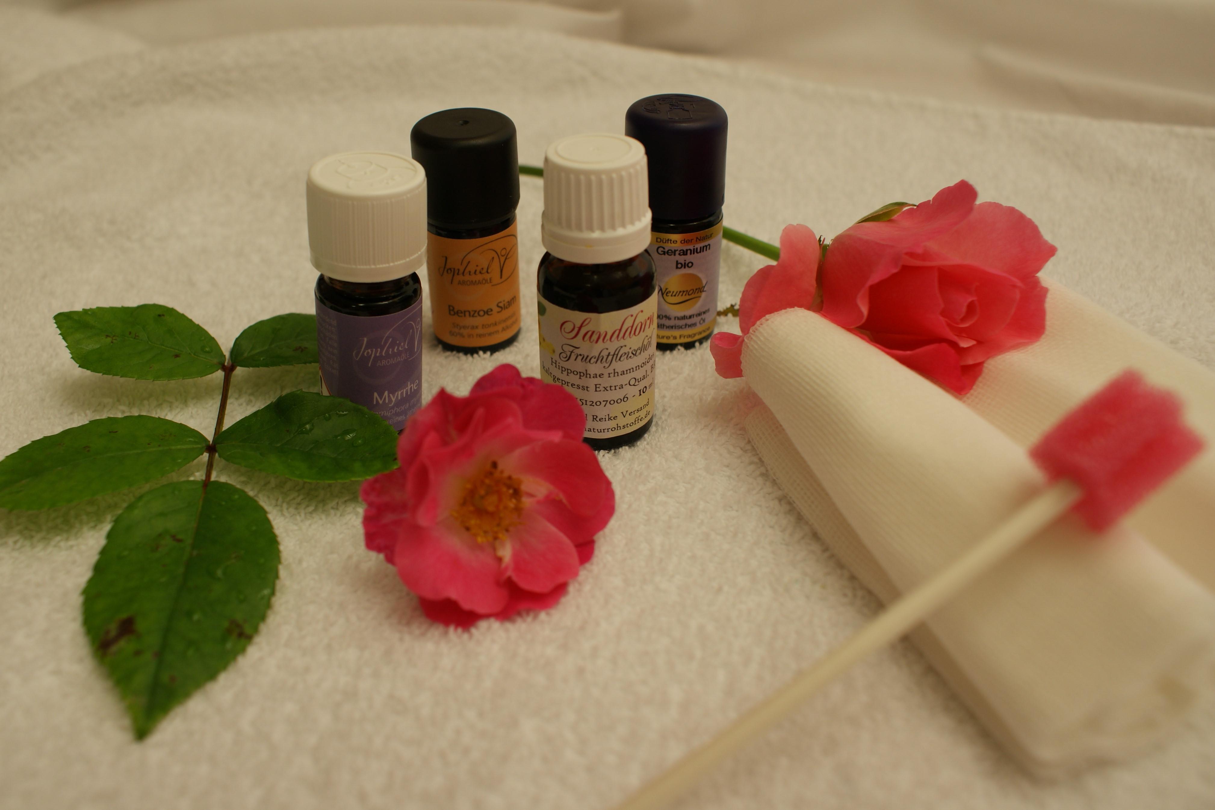 Praktische  Aromapflege